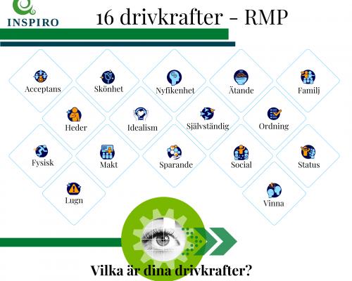 16 drivkrafter